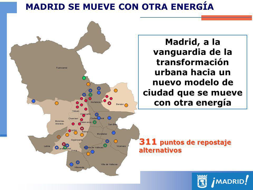 MADRID SE MUEVE CON OTRA ENERGÍA