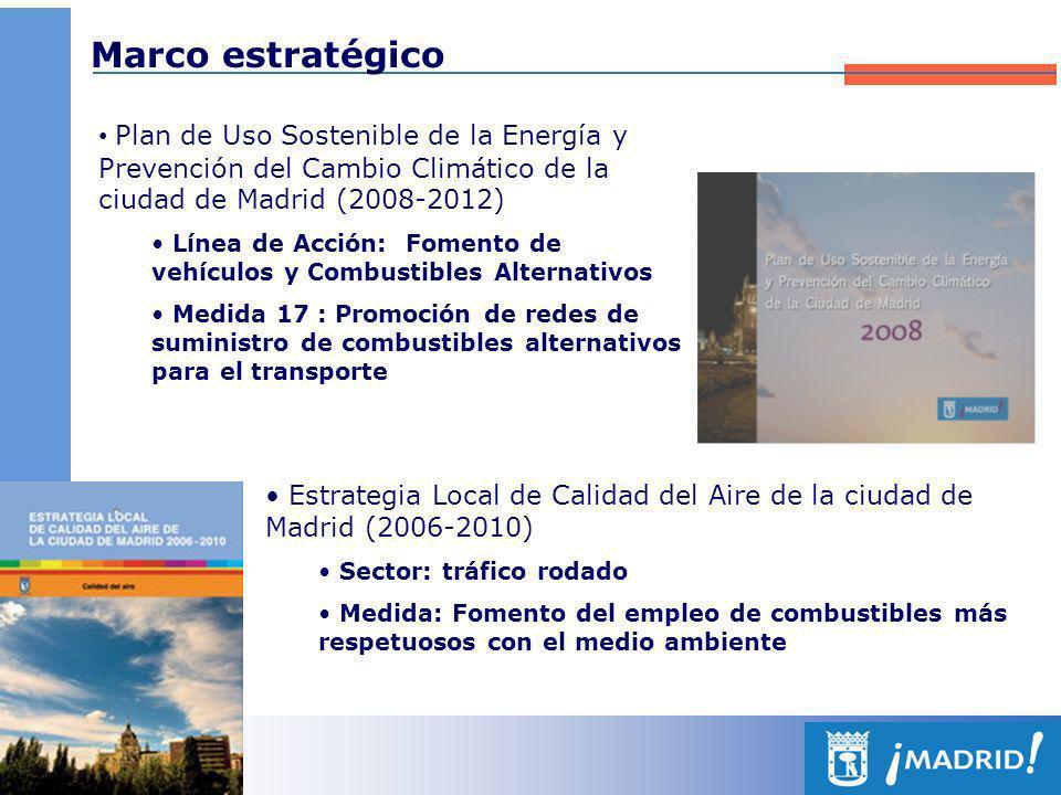 Marco estratégico Plan de Uso Sostenible de la Energía y Prevención del Cambio Climático de la ciudad de Madrid (2008-2012)