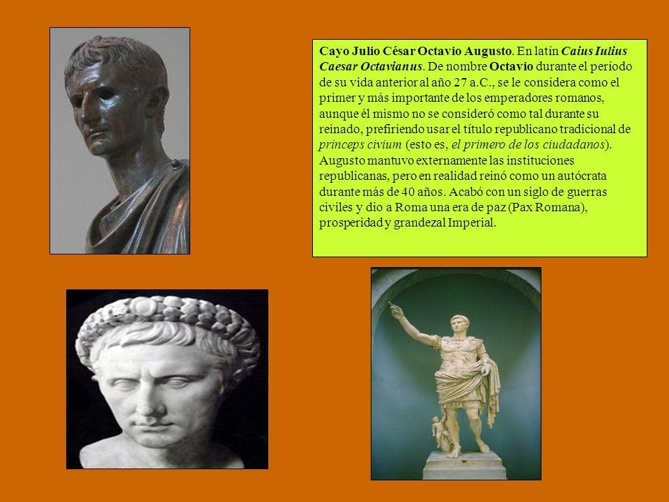 Cayo Julio César Octavio Augusto