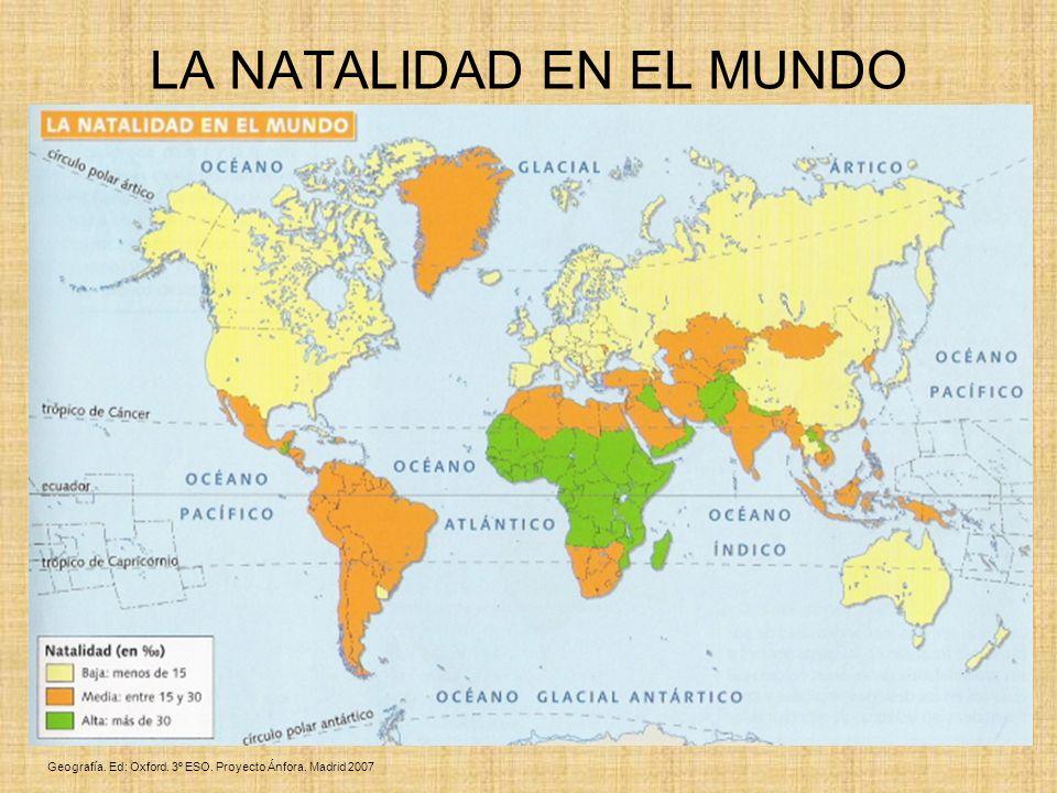 LA NATALIDAD EN EL MUNDO