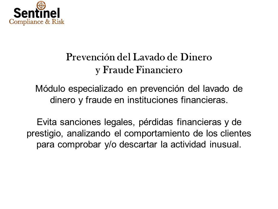 Prevención del Lavado de Dinero