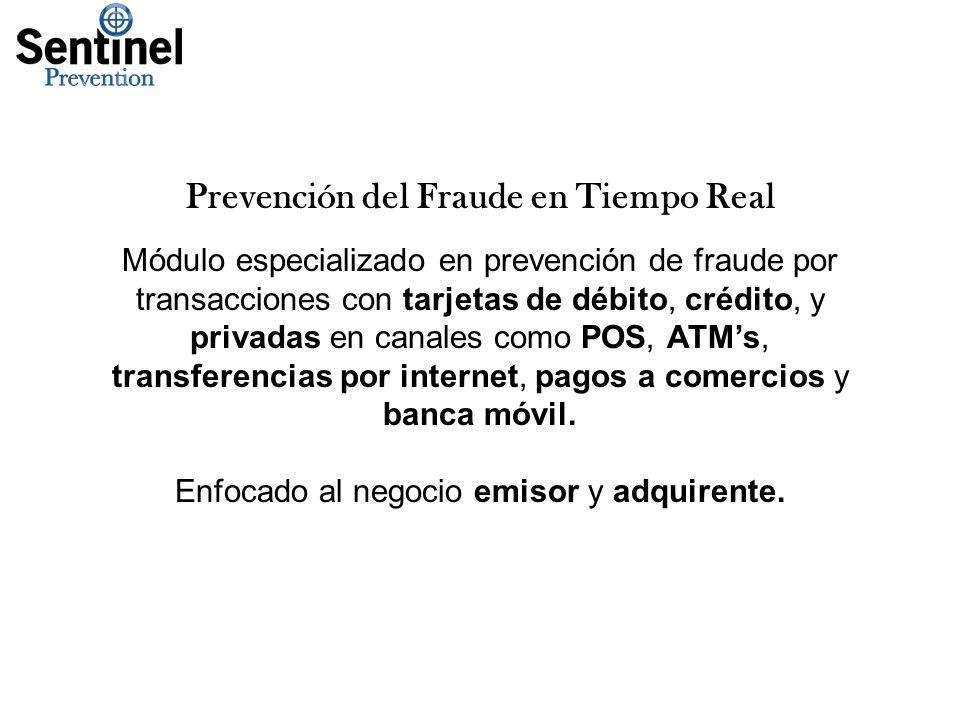 Prevención del Fraude en Tiempo Real