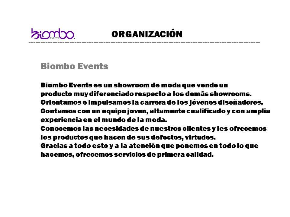 ORGANIZACIÓN Biombo Events
