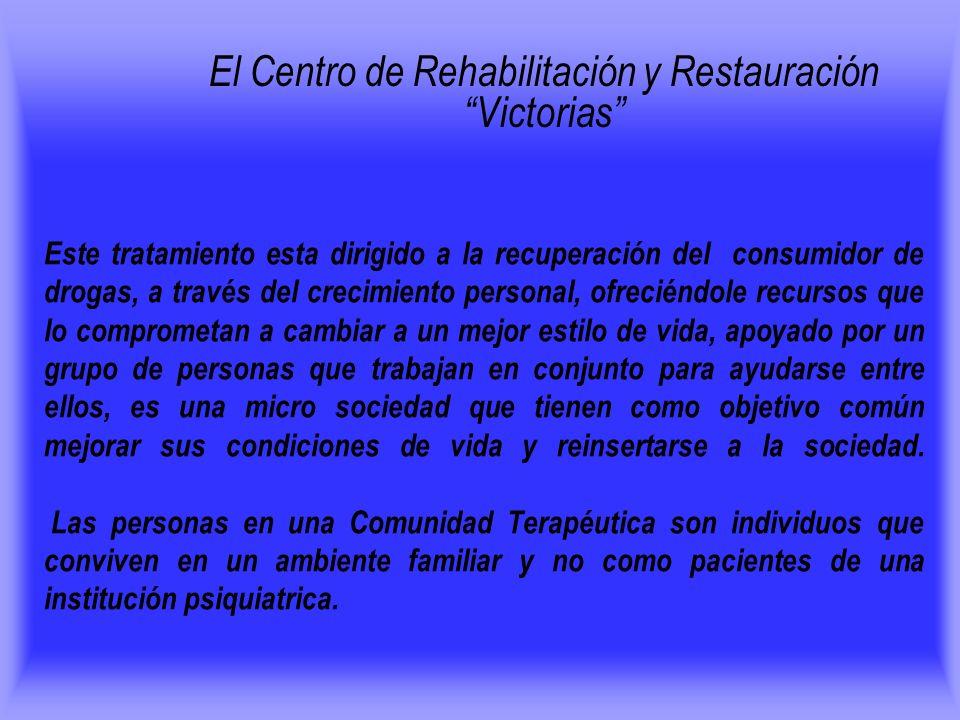 El Centro de Rehabilitación y Restauración Victorias