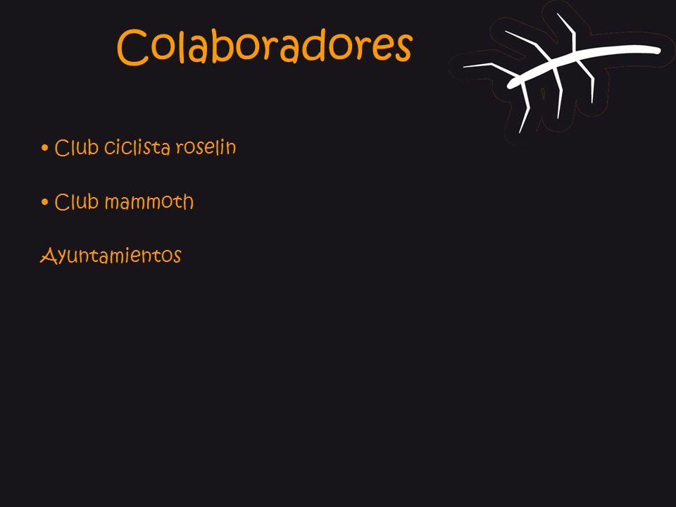 Colaboradores • Club ciclista roselin • Club mammoth Ayuntamientos