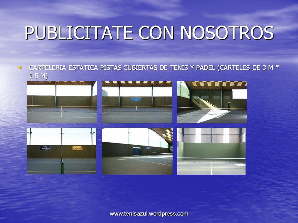 PUBLICITATE CON NOSOTROS