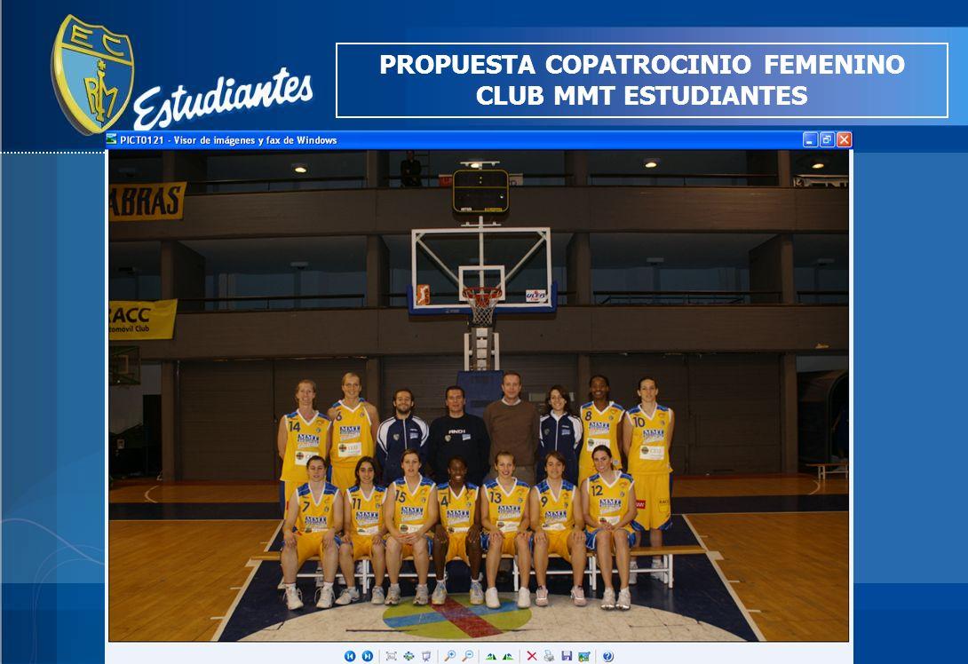 PROPUESTA COPATROCINIO FEMENINO CLUB MMT ESTUDIANTES