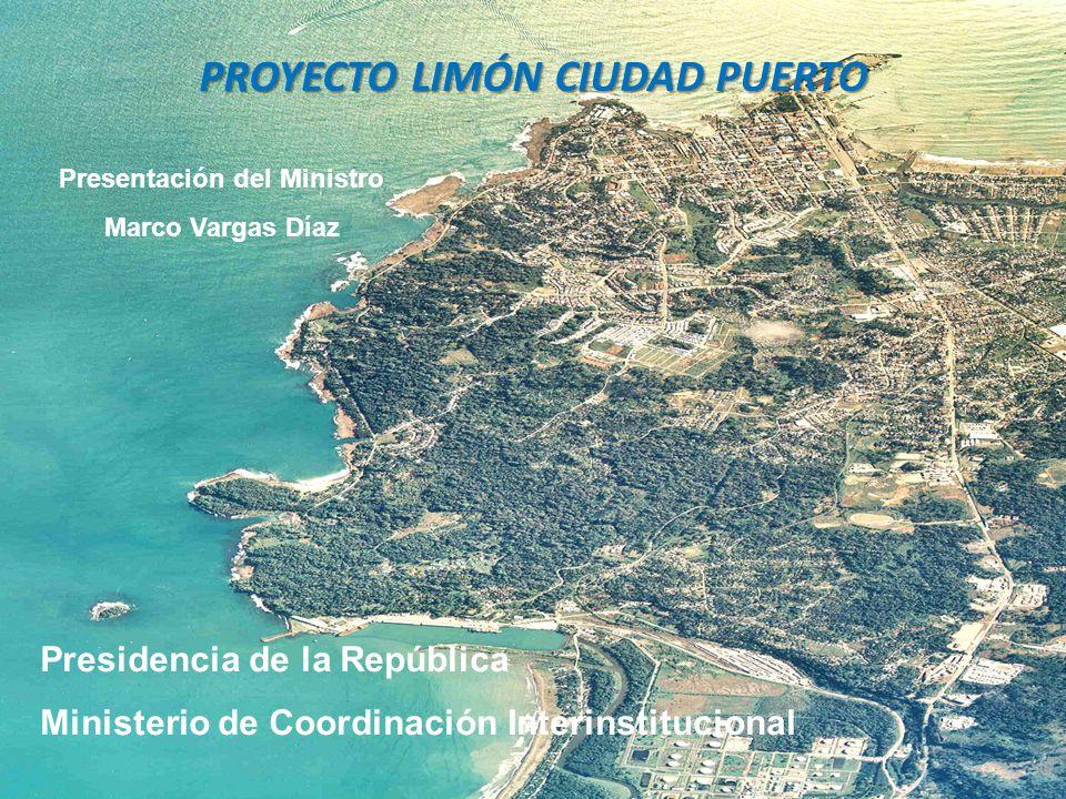 El proyecto Limón Ciudad Puerto
