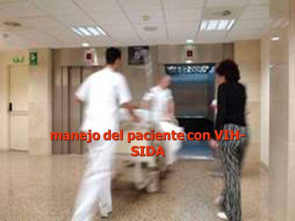 manejo del paciente con VIH-SIDA