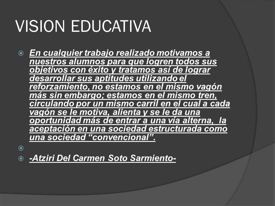 VISION EDUCATIVA