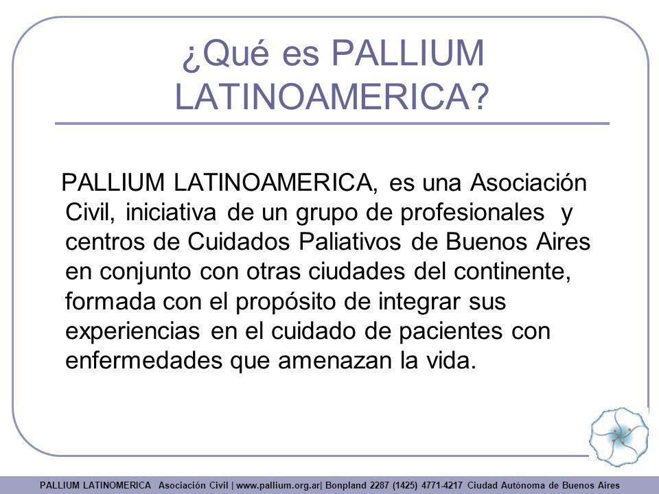 ¿Qué es PALLIUM LATINOAMERICA