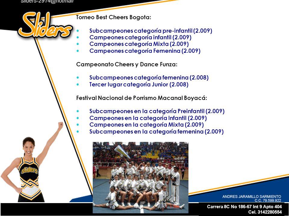 Torneo Best Cheers Bogota: