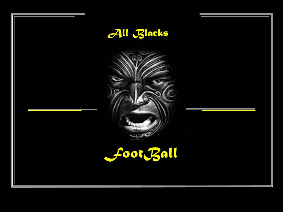 All Blacks FootBall