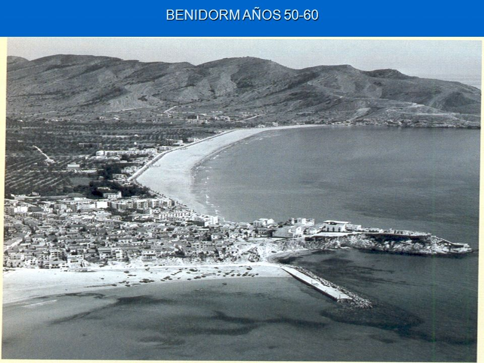 BENIDORM AÑOS 50-60