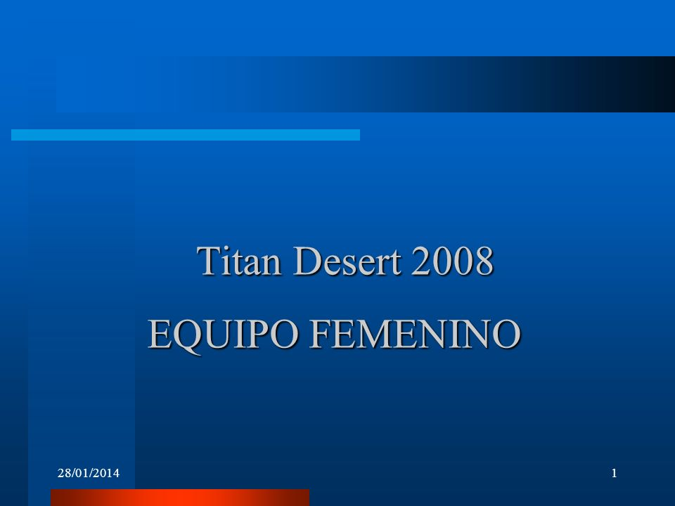 Titan Desert 2008 EQUIPO FEMENINO 24/03/2017
