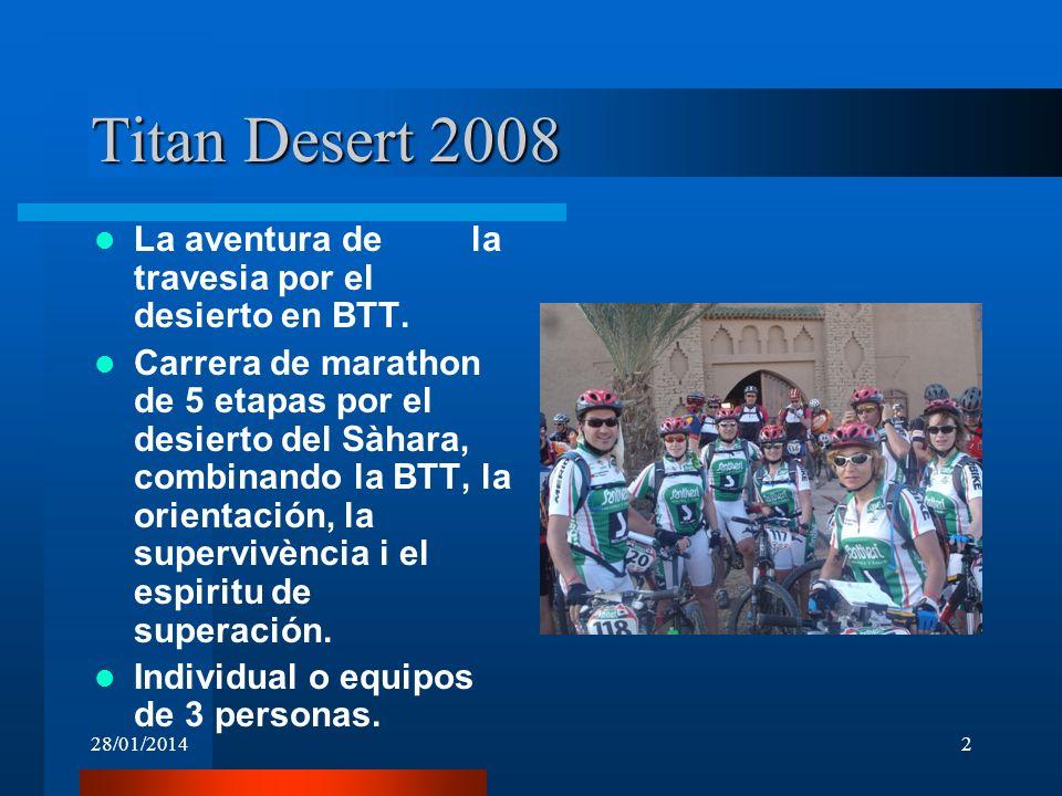 Titan Desert 2008 La aventura de la travesia por el desierto en BTT.