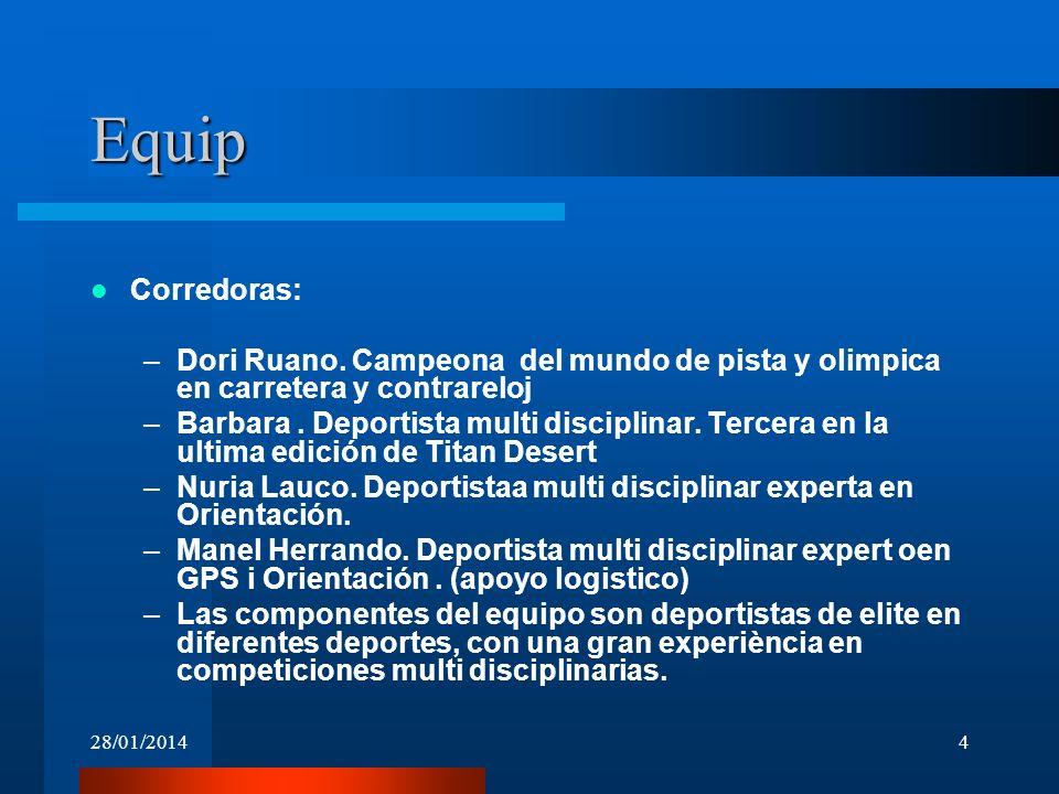 Equip Corredoras: Dori Ruano. Campeona del mundo de pista y olimpica en carretera y contrareloj.