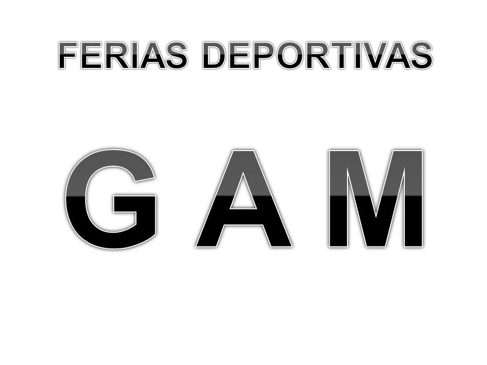 FERIAS DEPORTIVAS G A M