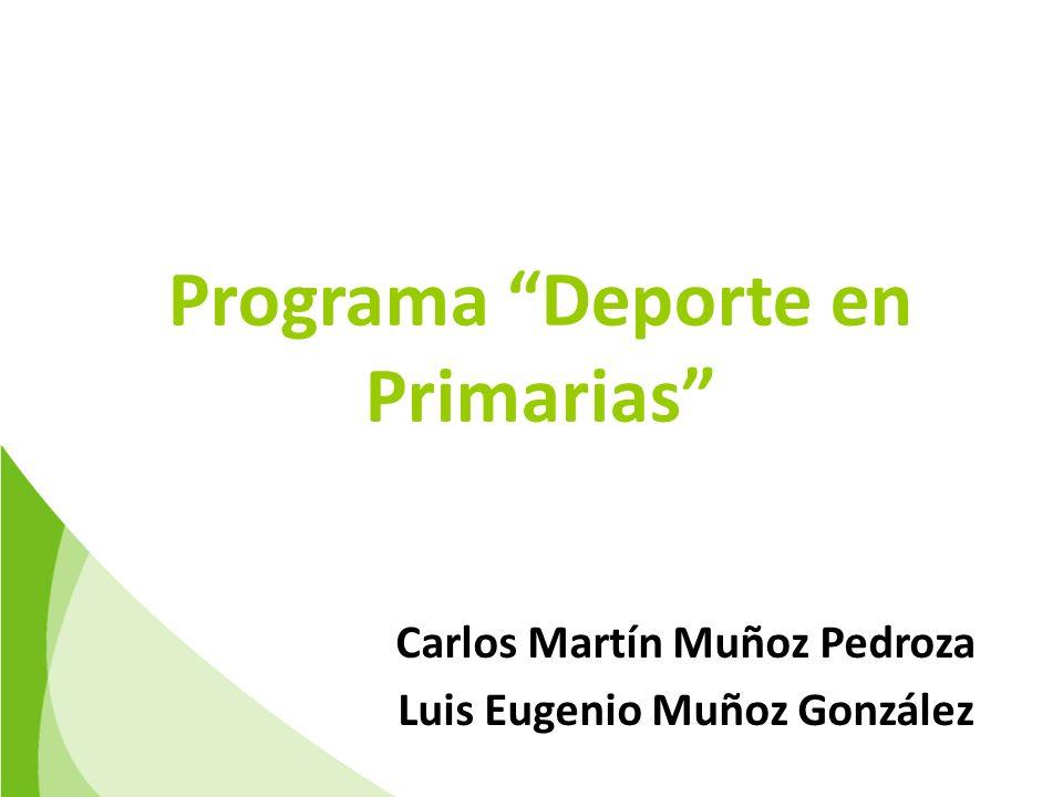Programa Deporte en Primarias