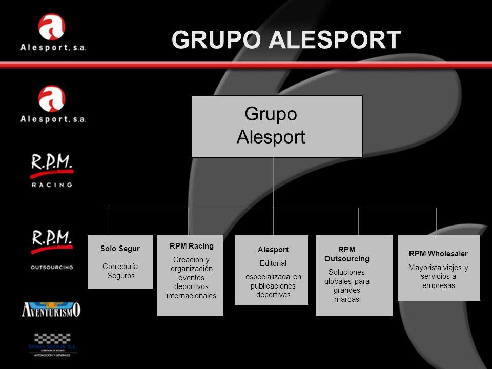 GRUPO ALESPORT Grupo Alesport