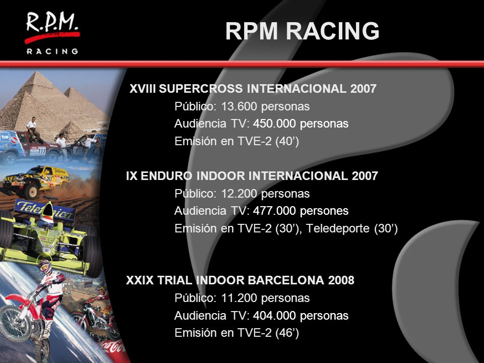 RPM RACING XVIII SUPERCROSS INTERNACIONAL 2007