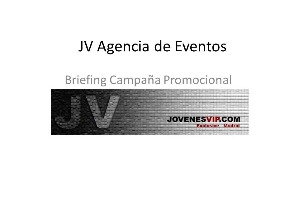Briefing Campaña Promocional