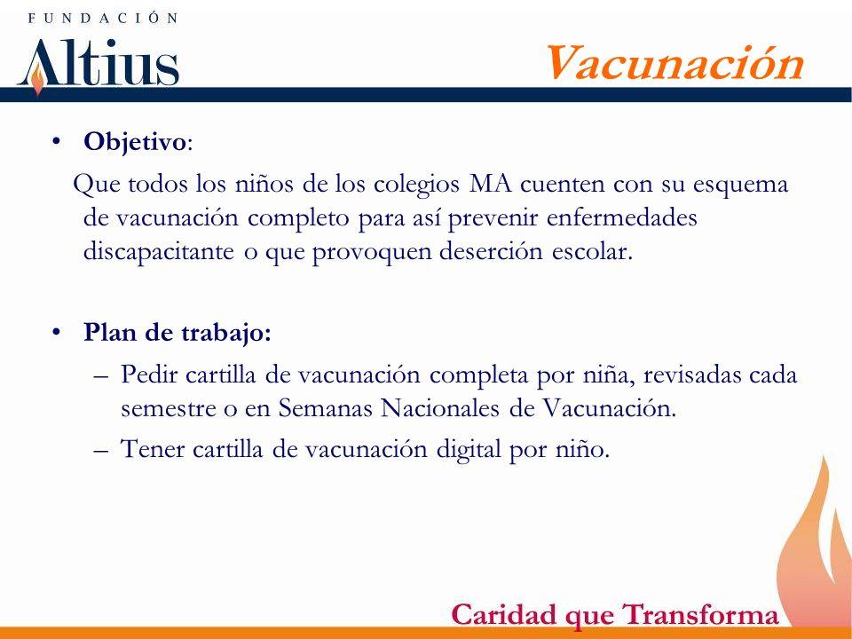 VacunaciónObjetivo: