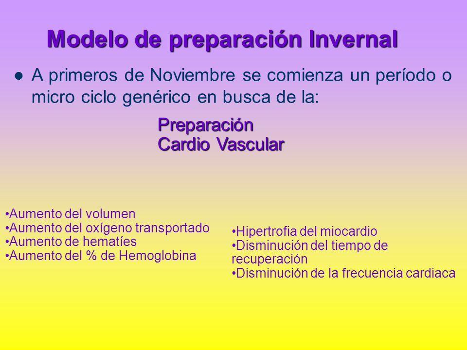 Modelo de preparación Invernal