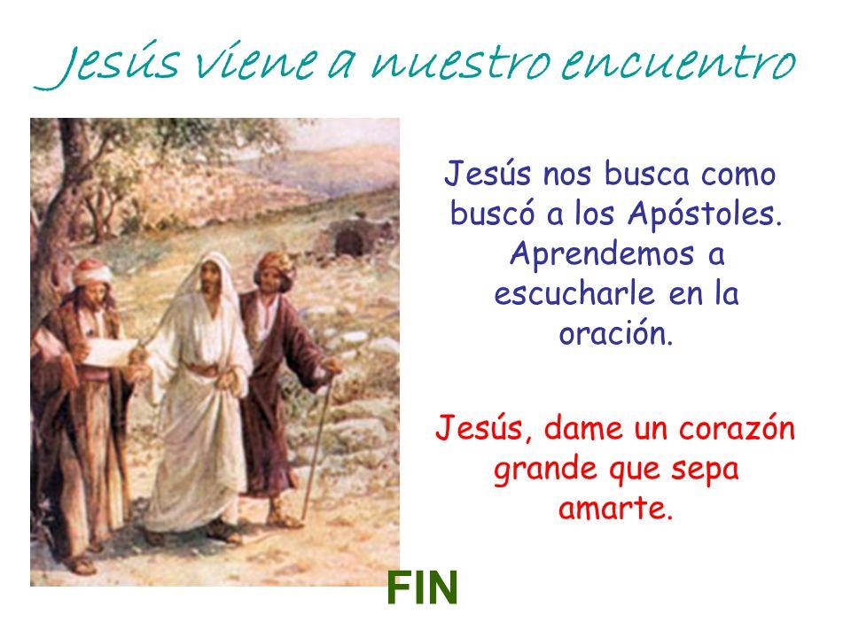 Jesús viene a nuestro encuentro