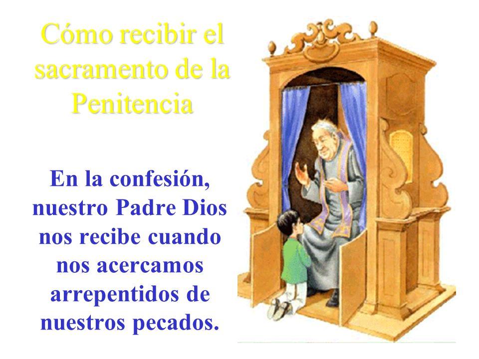Cómo recibir el sacramento de la Penitencia