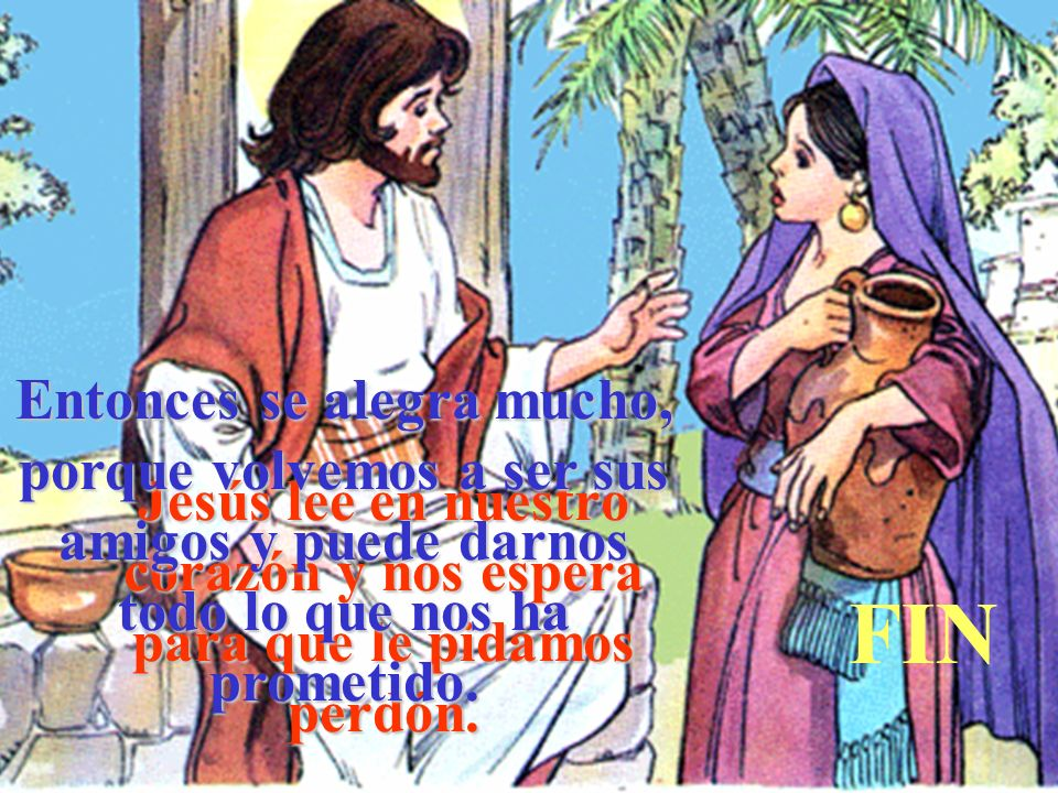 Jesús lee en nuestro corazón y nos espera para que le pidamos perdón.