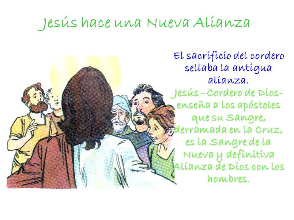 Jesús hace una Nueva Alianza