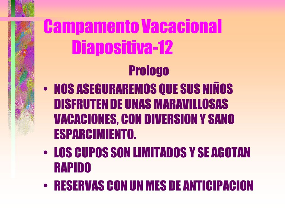Campamento Vacacional Diapositiva-12