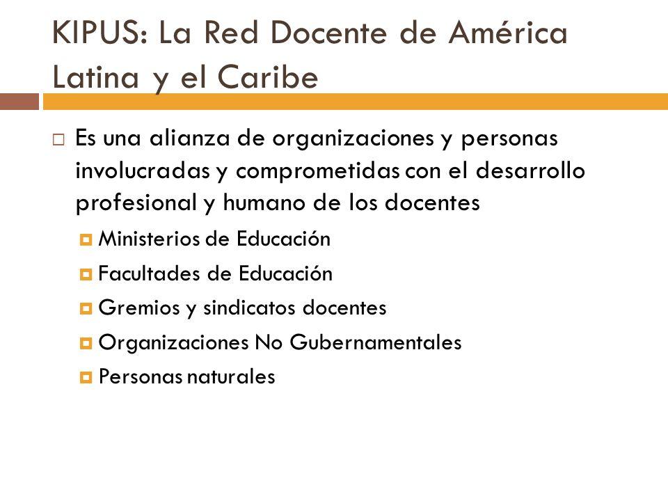 KIPUS: La Red Docente de América Latina y el Caribe