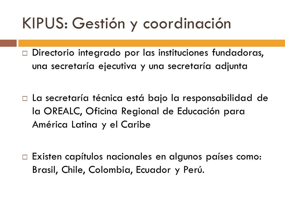 KIPUS: Gestión y coordinación