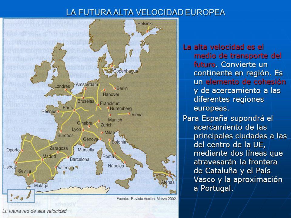 LA FUTURA ALTA VELOCIDAD EUROPEA
