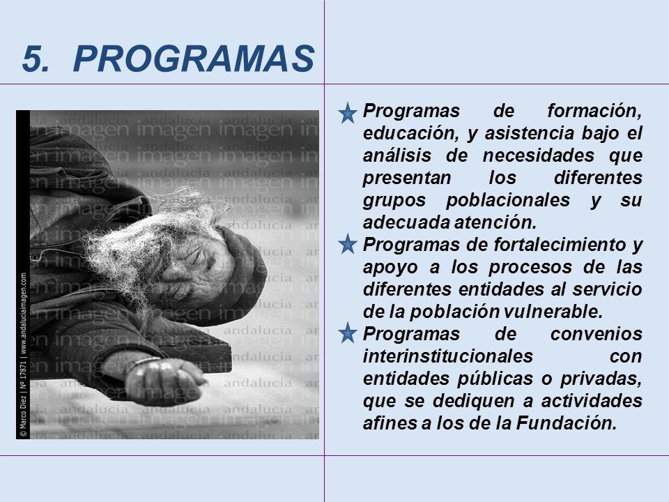 5. PROGRAMAS
