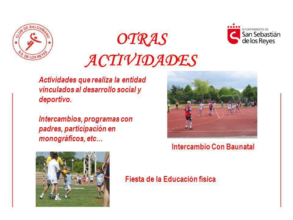 Intercambio Con Baunatal Fiesta de la Educación física