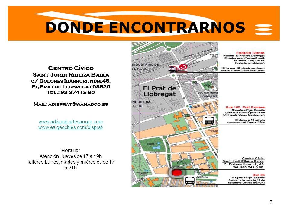 Sant Jordi-Ribera Baixa c/ Dolores Ibárruri, núm.45,