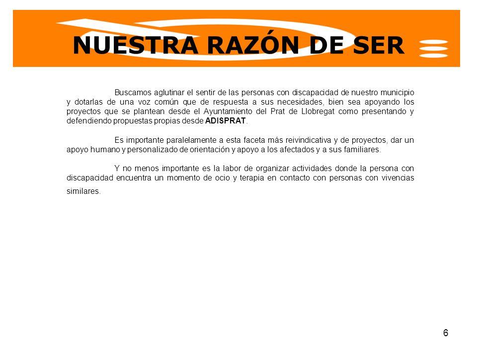 NUESTRA RAZÓN DE SER