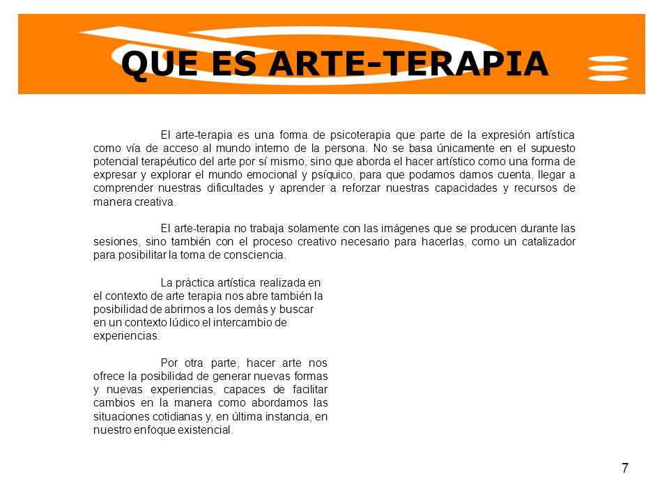 QUE ES ARTE-TERAPIA