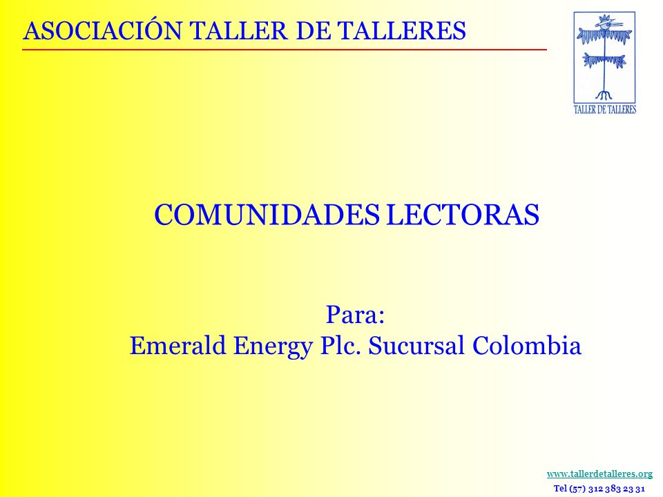 Emerald Energy Plc. Sucursal Colombia