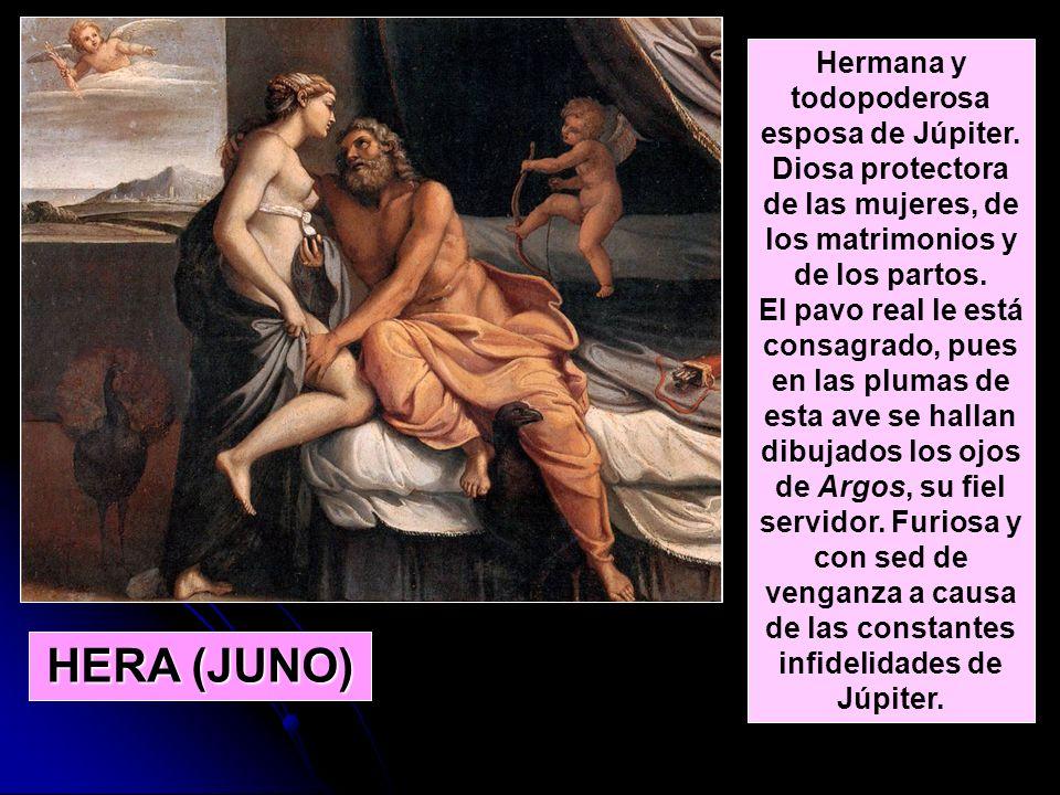 Hermana y todopoderosa esposa de Júpiter