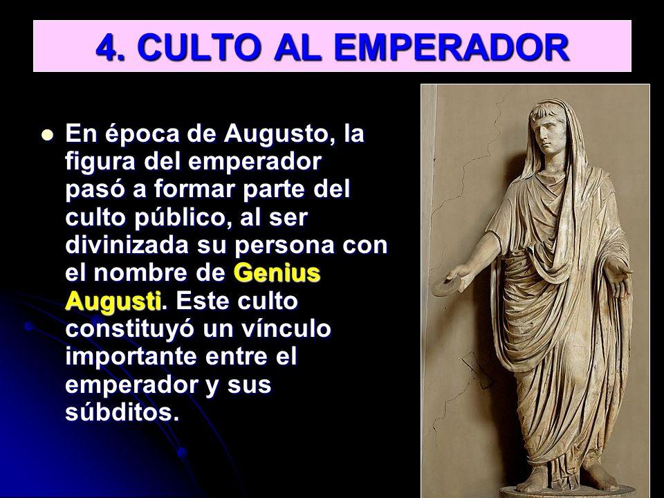 4. CULTO AL EMPERADOR