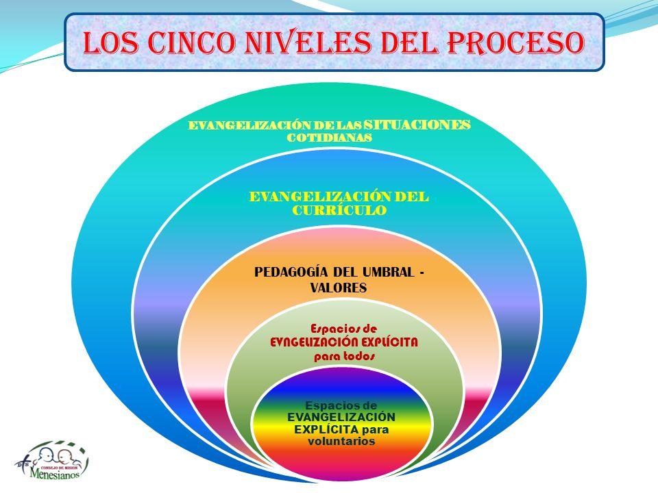 LOS CINCO NIVELES DEL PROCESO