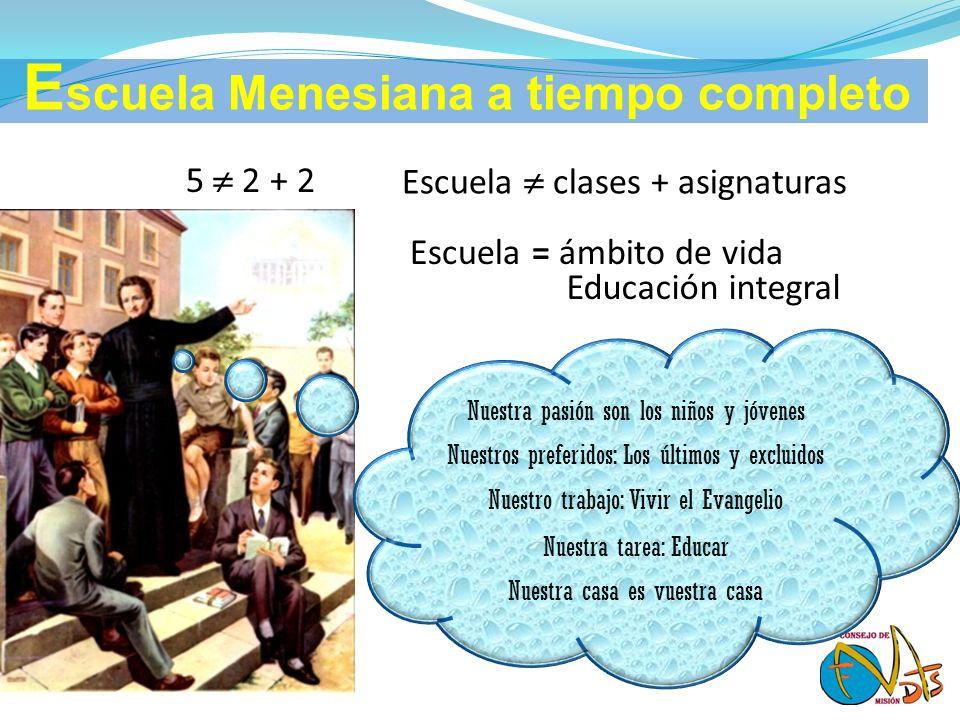 Escuela Menesiana a tiempo completo