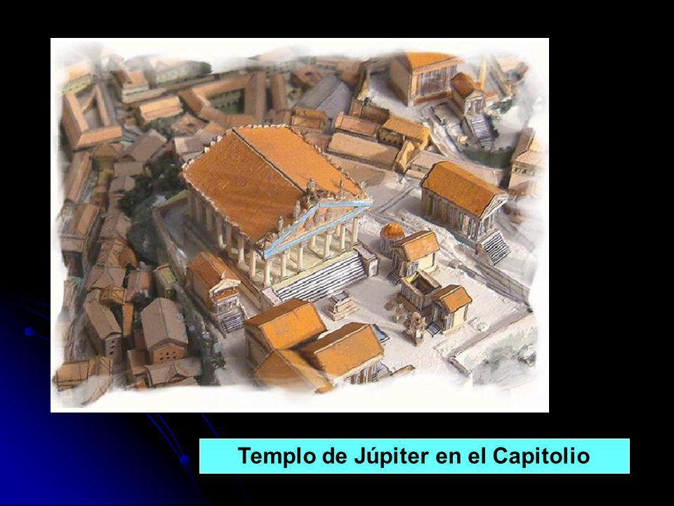 Templo de Júpiter en el Capitolio