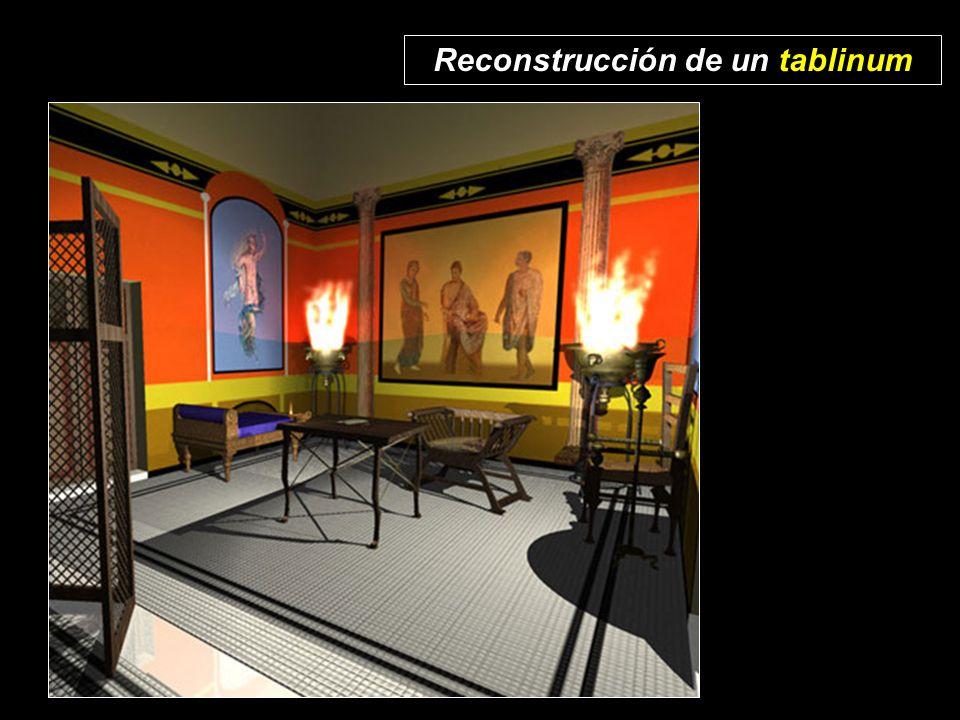 Reconstrucción de un tablinum