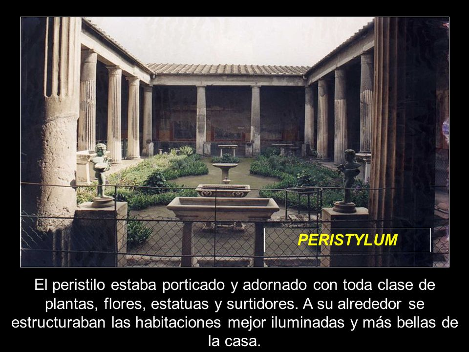 PERISTYLUM