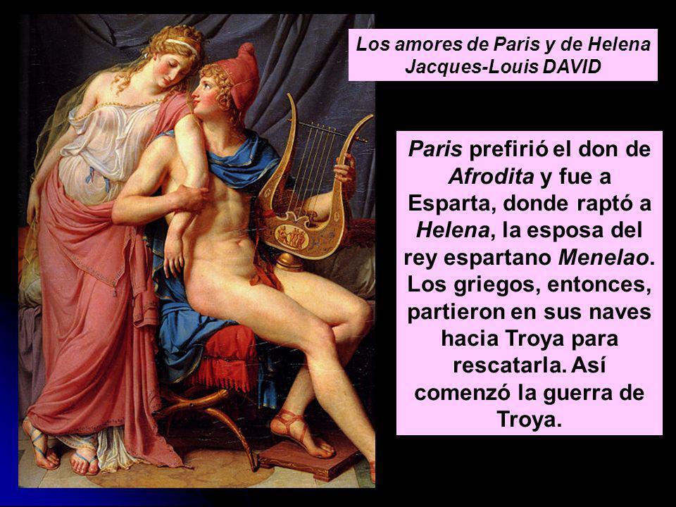 Los amores de Paris y de Helena Jacques-Louis DAVID
